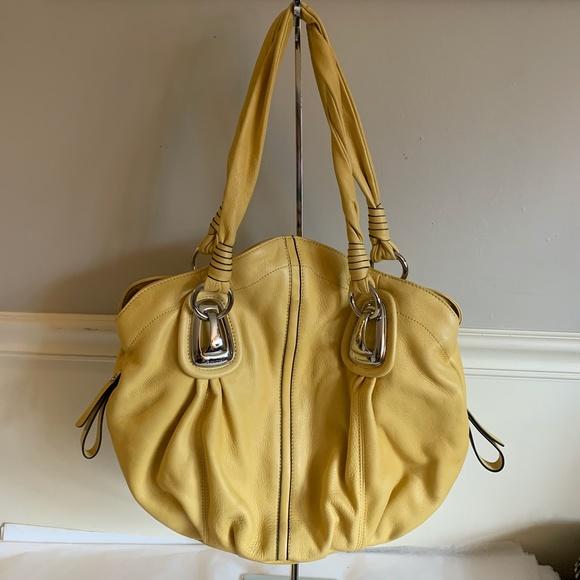 b. makowsky Handbags - B.MAKOWSKY Saffron Yellow Shopper Tote